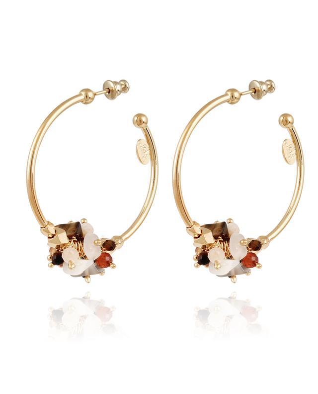 Boucles d'oreilles dorées Gaudia GAS BIJOUX