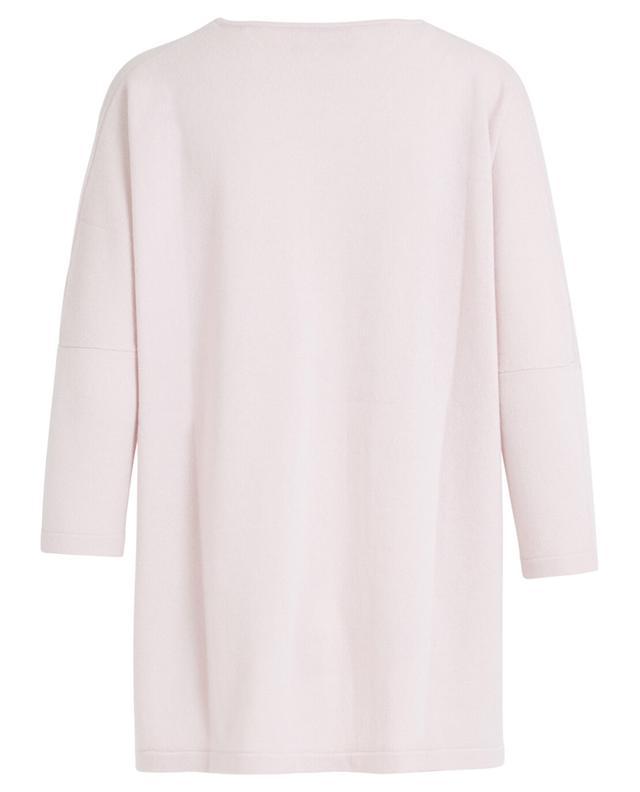 Pullover aus Wolle und Kaschmir mit Seidenbesatz HERZEN'S ANGELEHEIT