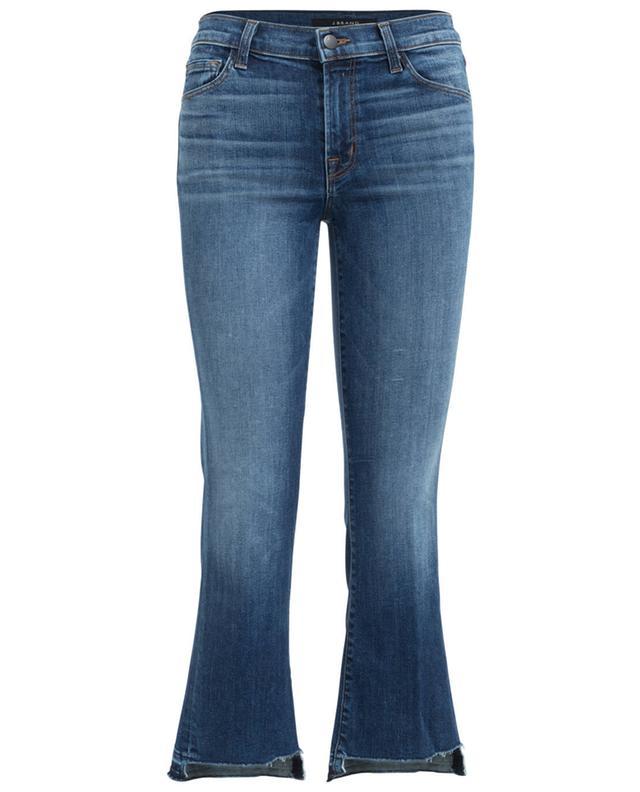 J brand selena bootcut cropped jeans blue a24854