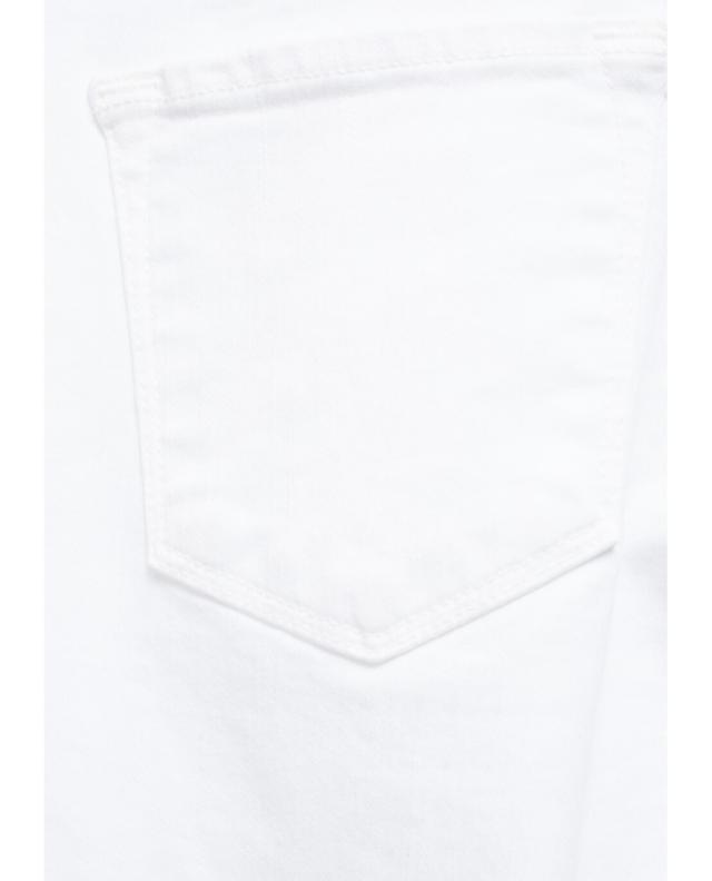 J brand selena bootcut cropped jeans white a24858