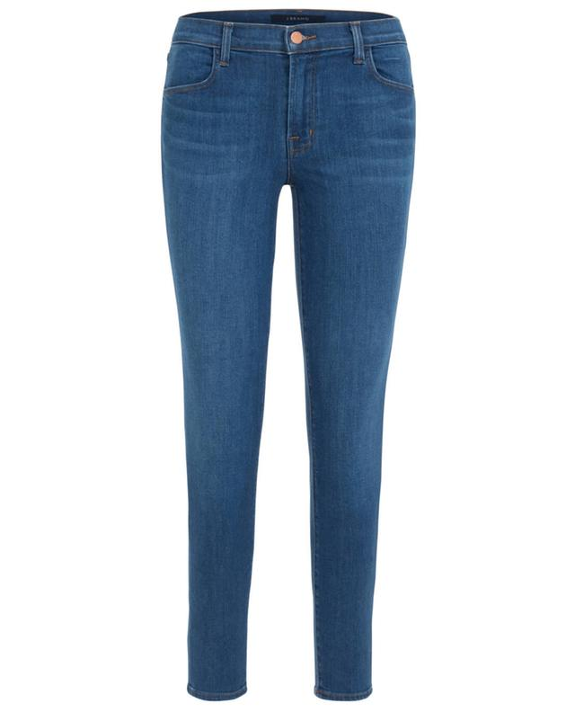 J brand skinny jeans in kurzer passform alana blau a24859