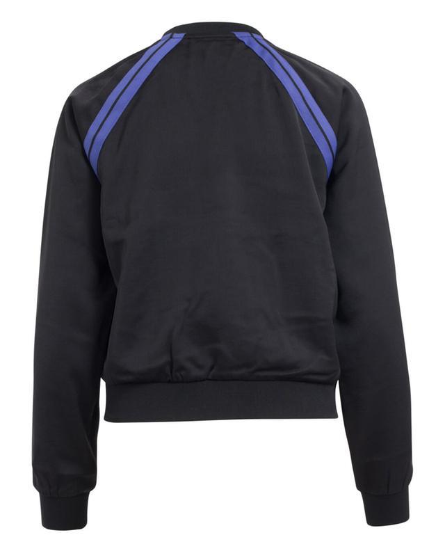 Sweat-shirt zippé à sequins et dentelle JUICY COUTURE