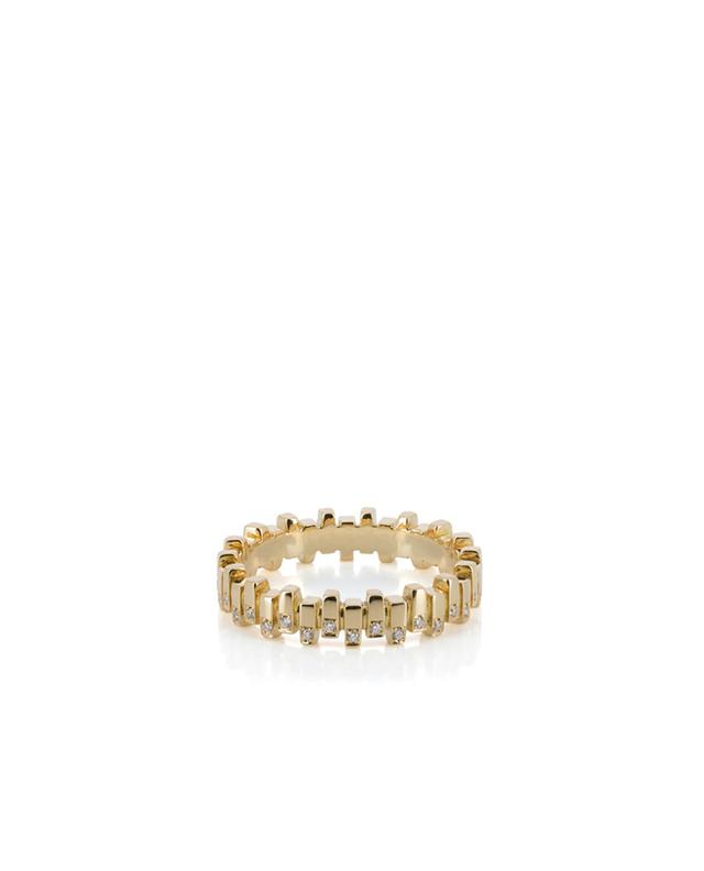 Bague en or jaune et diamants MISANELLI