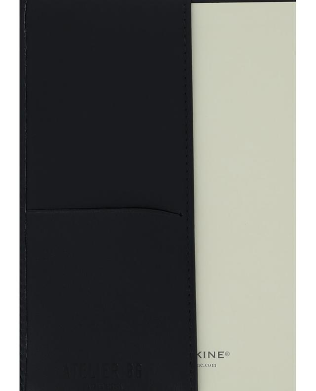 Carnet avec couverture en cuir ATELIER BG