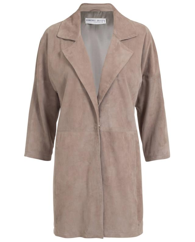 Manteau en daim BONGENIE GRIEDER