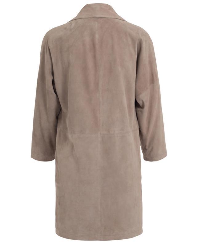 Suede coat BONGENIE GRIEDER