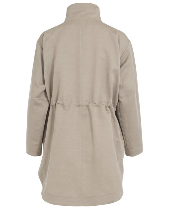 Linen and cotton safari jacket FABIANA FILIPPI