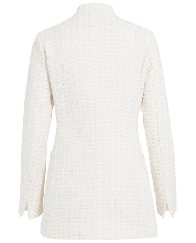 Textured cotton coat FAY