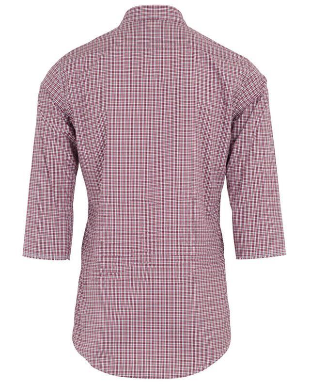 Chemise à carreaux en coton DSQUARED2