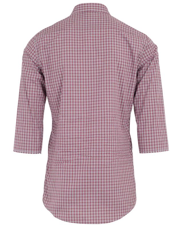 Cotton checked shirt DSQUARED2
