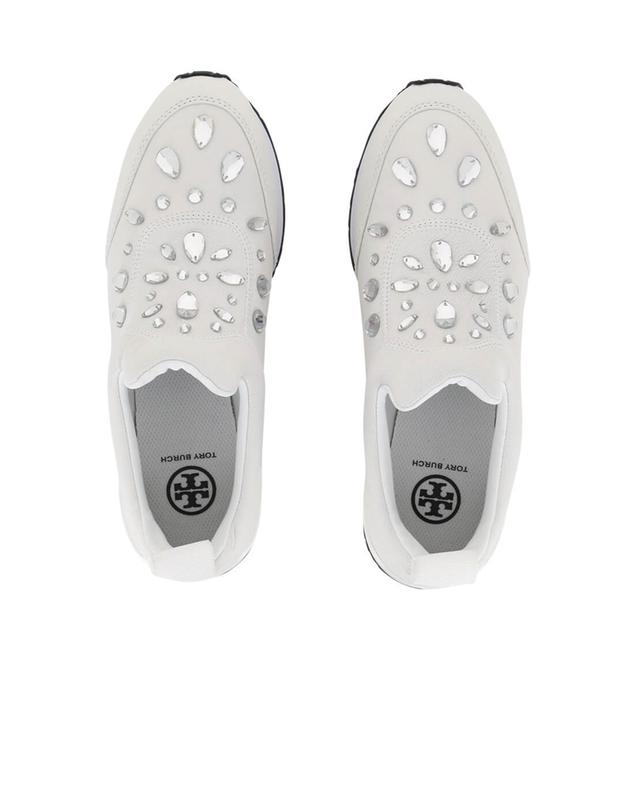 Sneakers aus Leder mit Strass Laney TORY BURCH