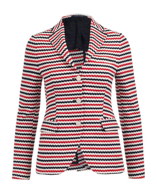 Tagliatore cotton blazer black A28673-MULT