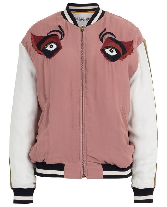 Nutty embroidered bomber jacket ESSENTIEL