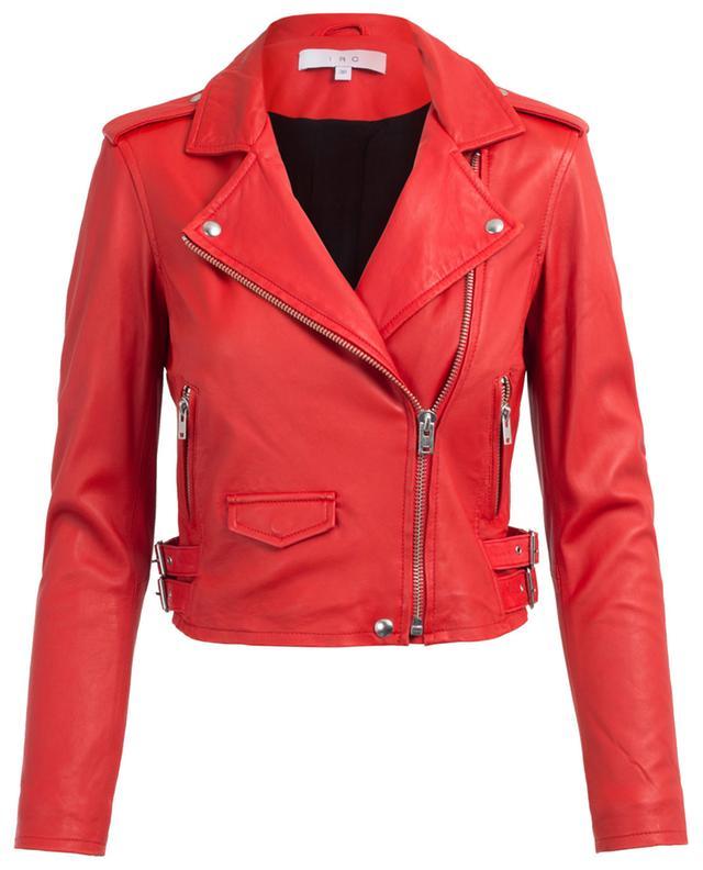 Ashville leather moto jacket IRO