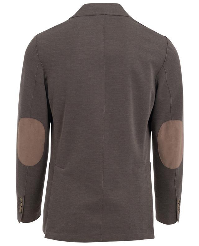 Piquéd cotton blend blazer ELEVENTY