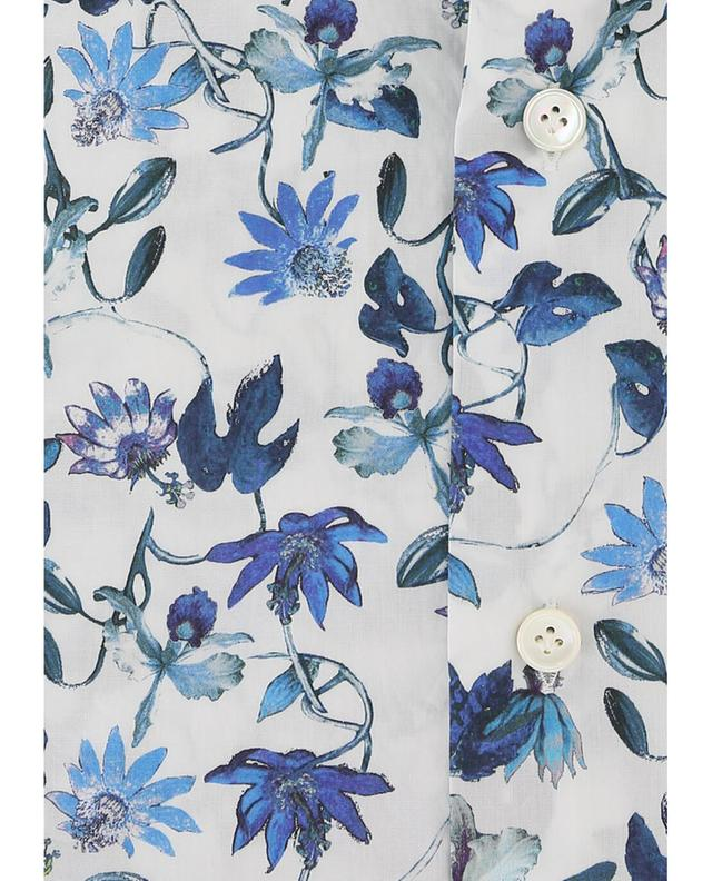 Baumwollhemd mit Blumenmotiv ELEVENTY