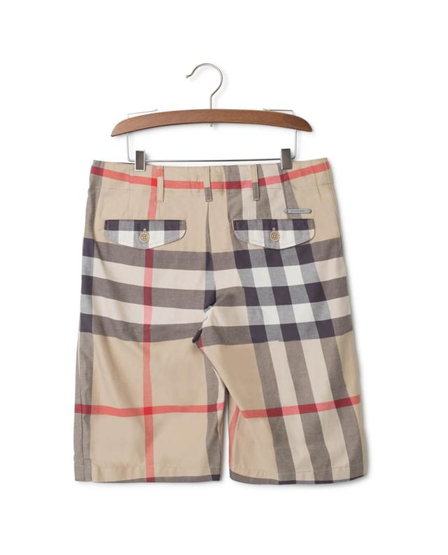 Bermuda motif check BURBERRY Bermuda motif check BURBERRY af8978689cd