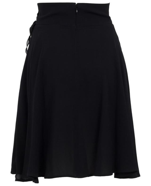 Elisabetta franchi jupe en viscose noir A29759-NOIR