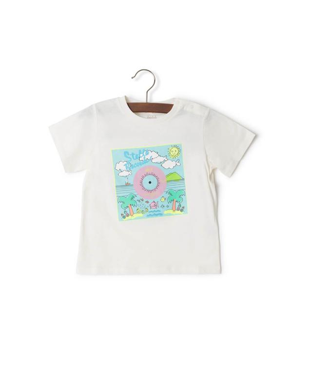 Stella mccartney cotton t-shirt white a29844
