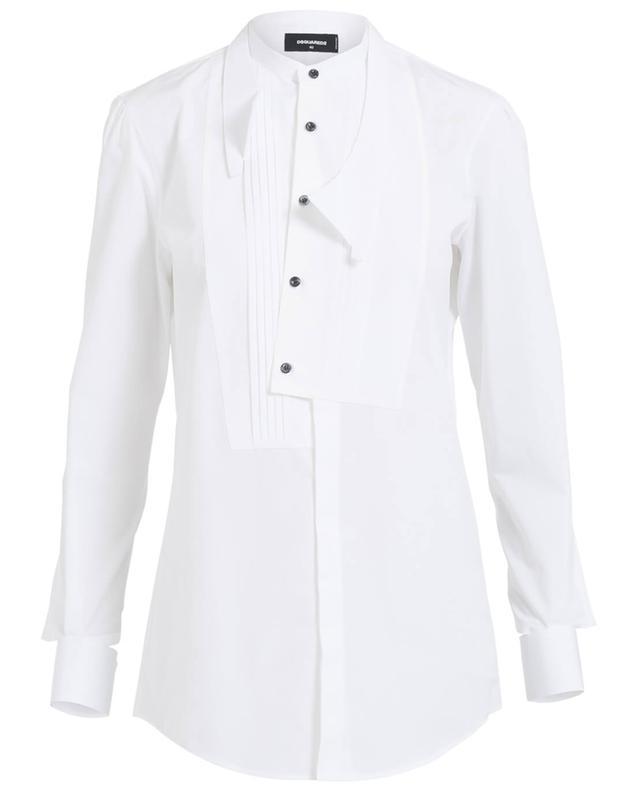 Dsquared2 chemise en coton blanc a29856