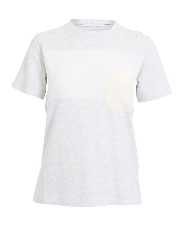 T-shirt en coton et soie FABIANA FILIPPI