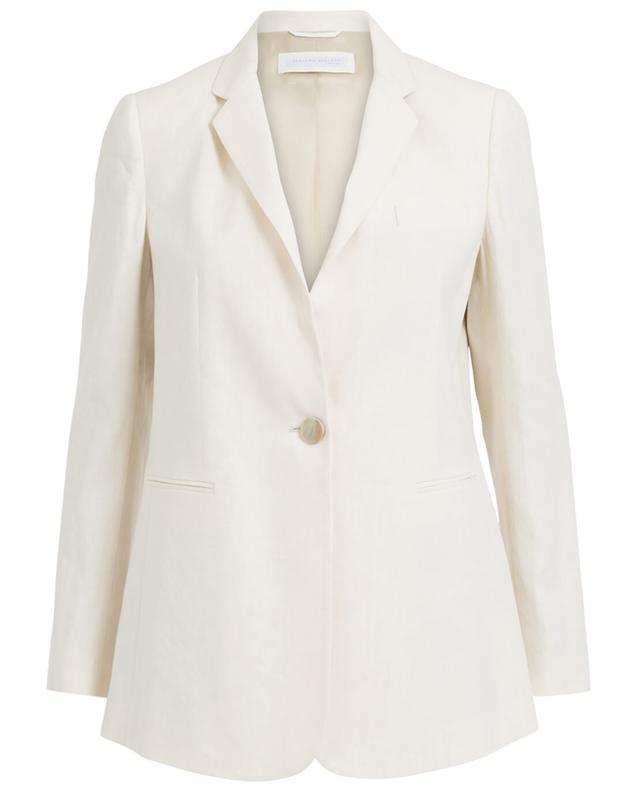 Fabiana filippi veste en lin et coton beige A30046-BEIG