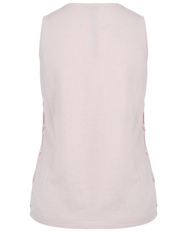 Cotton and cashmere sleeveless top BONGENIE GRIEDER