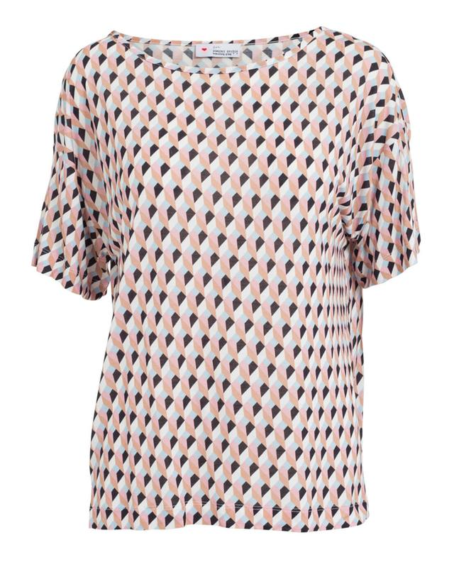 Herzen's angelegenhe t-shirt à imprimé roseclair A31060-MULT