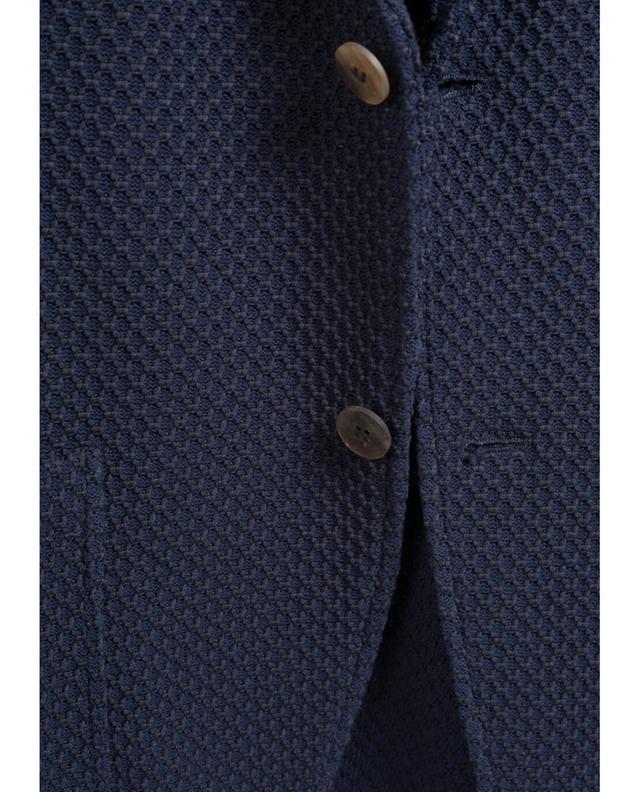 Blazer en coton texturé ALTEA