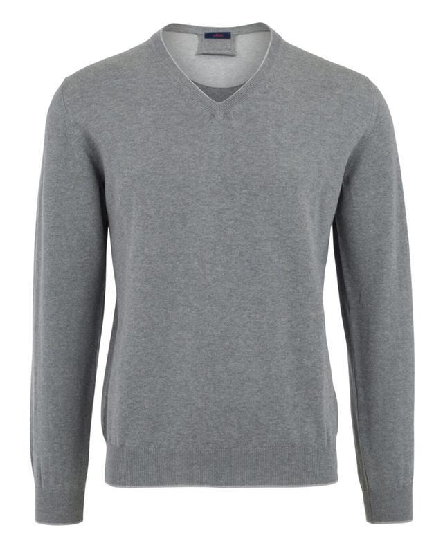 Pullover aus Baumwolle mit V-Ausschnitt ALTEA