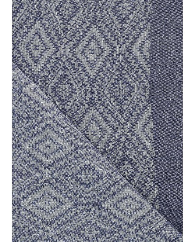 Linen and wool scarf HEMISPHERE