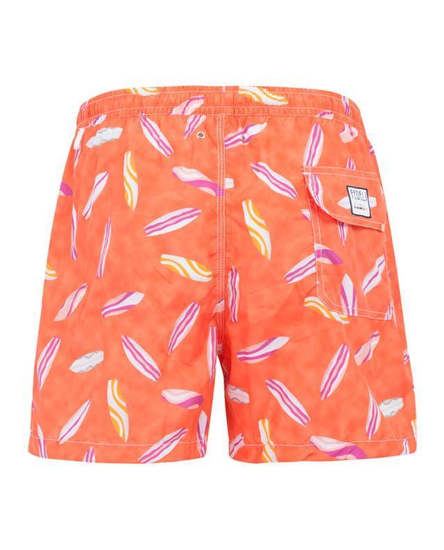 Printed swim shorts FEDELI