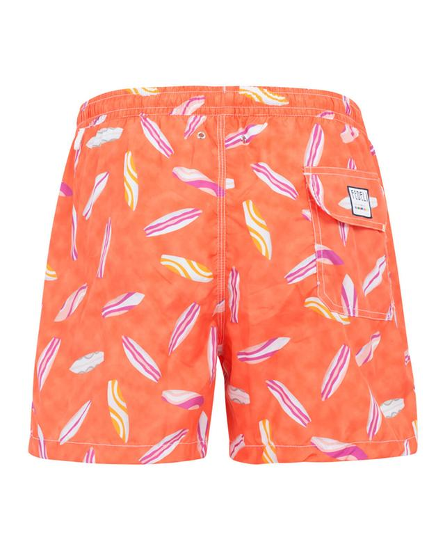 Printed swim shorts FEDELI