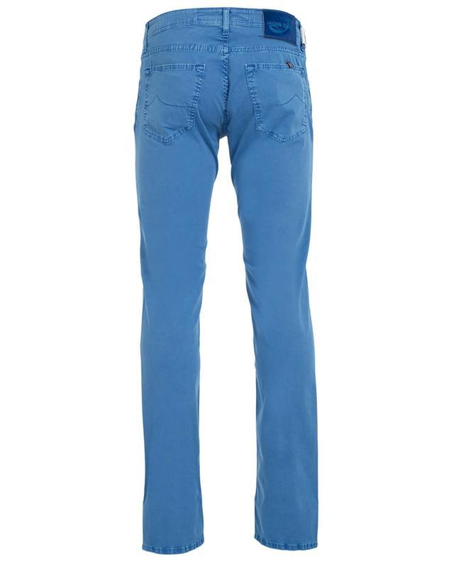 Jacob cohen pantalon slim en coton bleu a31399