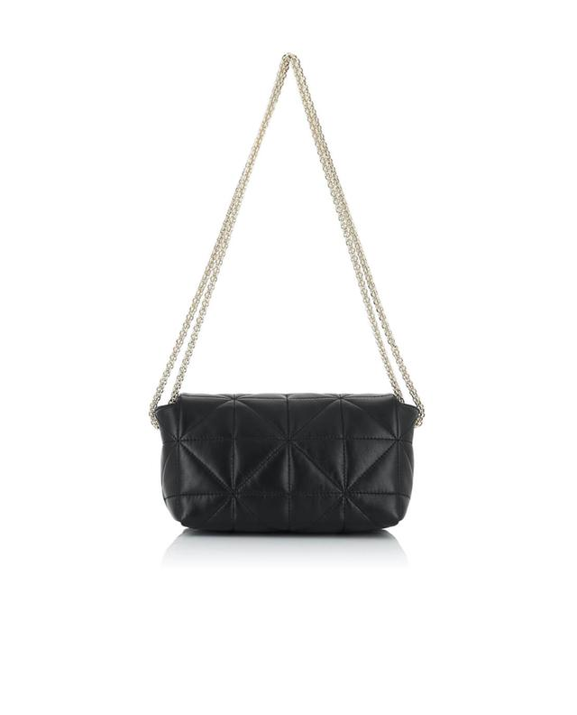 Sonia rykiel le copain quilted leather shoulder bag black a31474