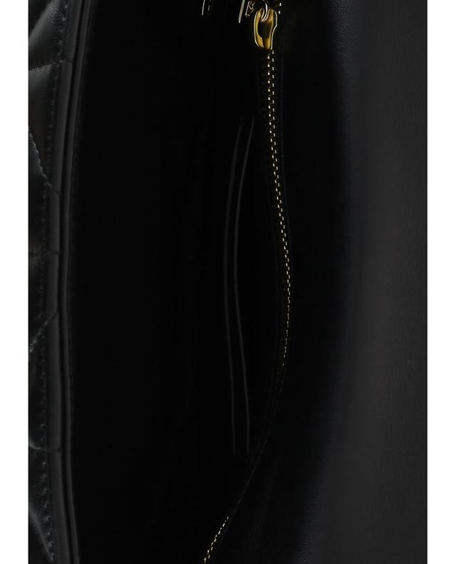 Sonia rykiel gesteppte schultertasche aus leder le copain schwarz a31474
