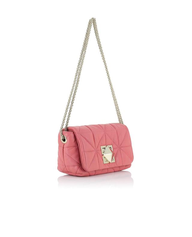Sonia rykiel le copain quilted leather shoulder bag lightpink