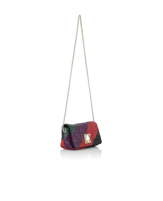 Sonia rykiel sac porté épaule en cuir matelassé le copain multicolore1