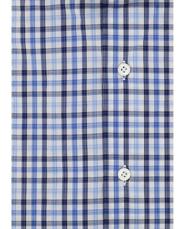 Chemise en coton à carreaux MAZZARELLI