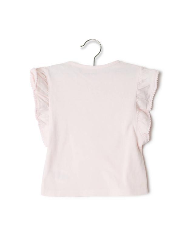 Zadig voltaire t-shirt aus baumwolle hellrosa a31896