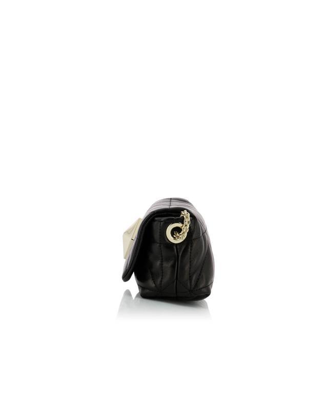 Sonia rykiel gesteppte umhängetasche aus nappaleder le copain schwarz