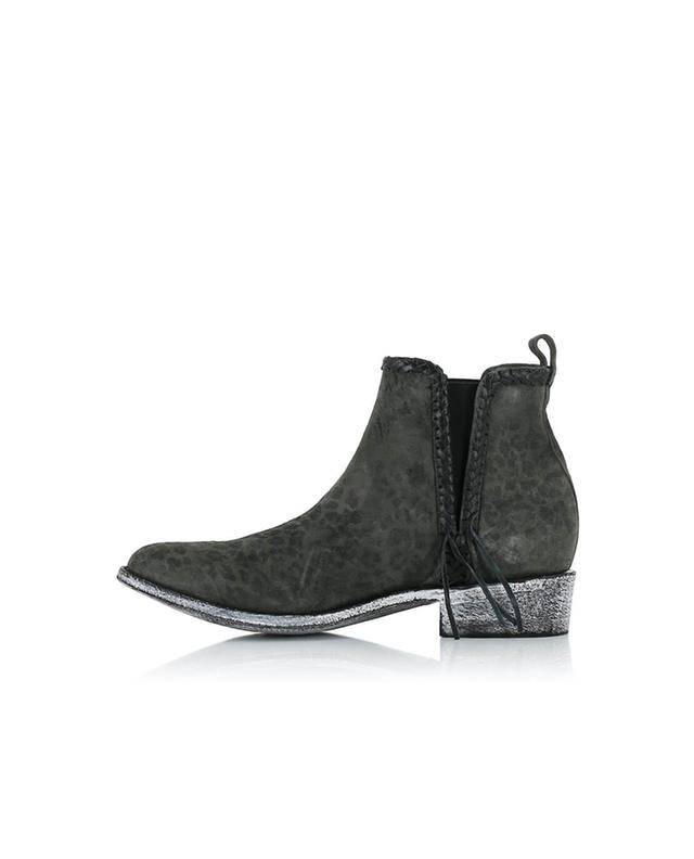 Mexicana bottines en daim anthracite A32166-GRISF