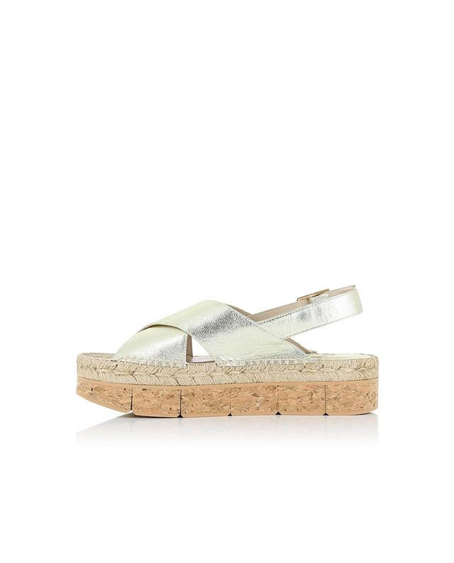 Paloma barcelo sandales en cuir doré lynde dore A32319-DORE