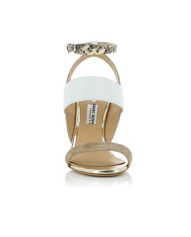 Sandales en cuir et daim BONGENIE GRIEDER