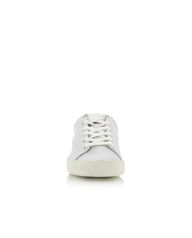 Tiefe Sneakers aus metallisiertem Leder Nicky ASH
