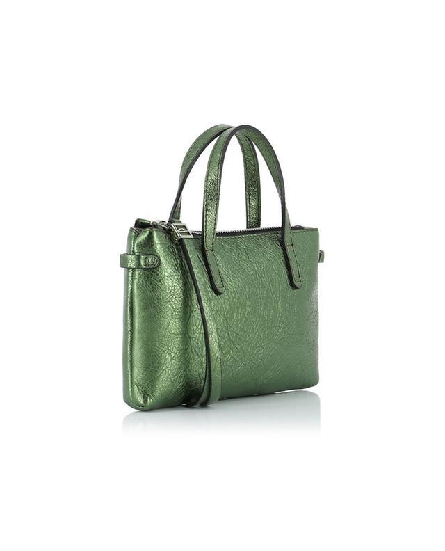 Gianni chiarini kleine ledertasche mit trageband khaki