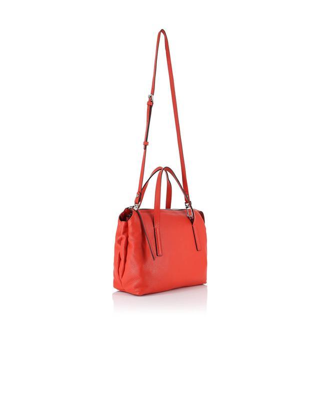 Gianni chiarini sac à main en cuir texturé orange a32525
