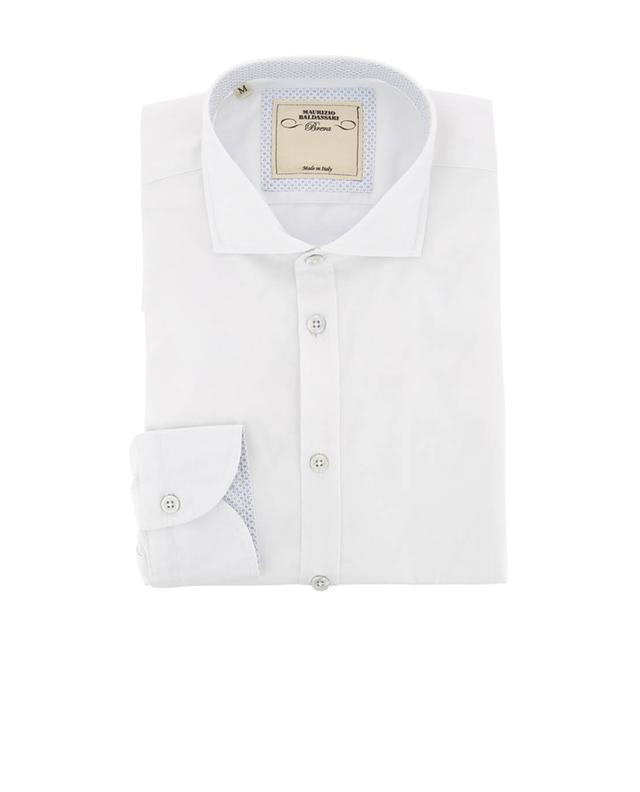 Baldassari cotton shirt white A32542-BLAN