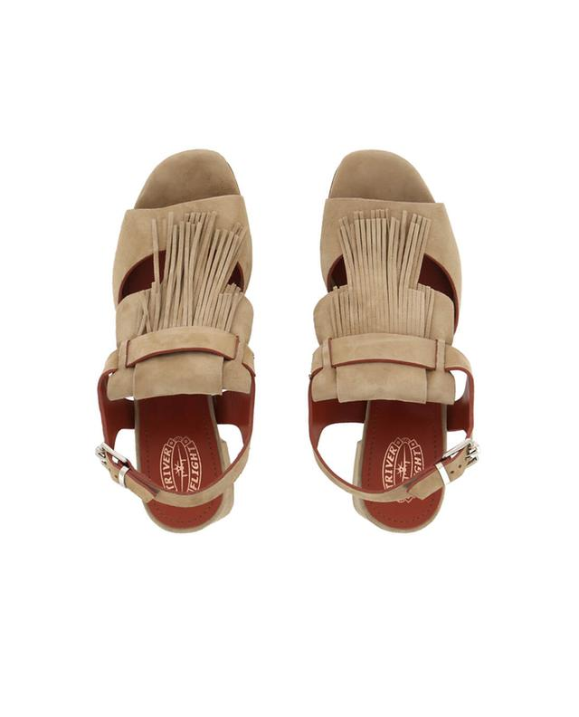 Heeles suede sandals TRIVER FLIGHT