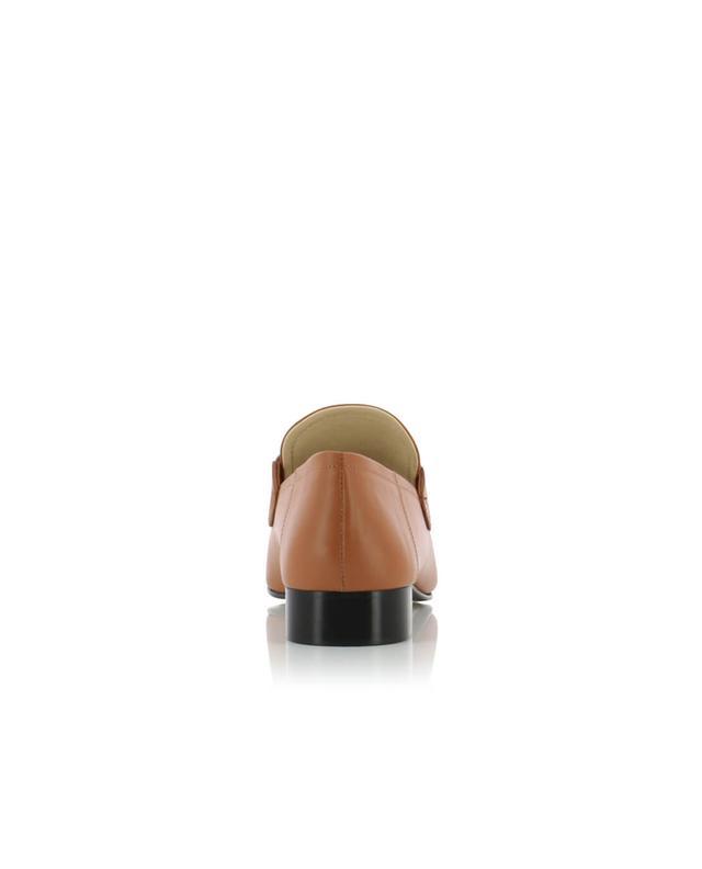 Joseph mocassins en cuir camel A32667-MARRM